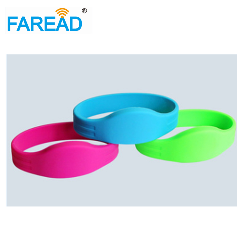 Free Shipping RFID Wristband 125khz EM4100 Chip For Ticket System And Harsh Environment 100pcs/lot