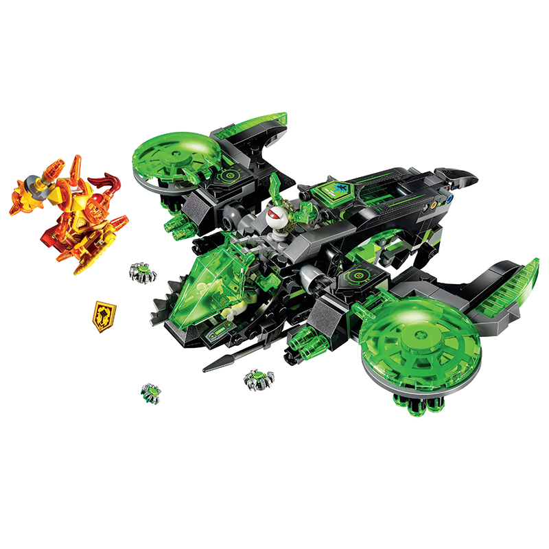 Bela Compatible Legoe Nexus Nexo Knights 72003 386Pcs Berserker Bomber Building Blocks Bricks Toys Gifts for Children New pogo compatible legoe bela 10704 nexus nexo knights powers pouvoirs aaron lance clay building blocks bricks toys