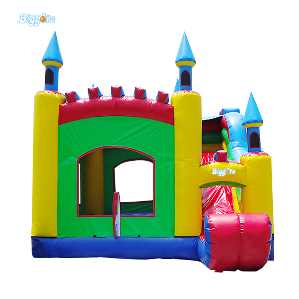 PVC Fun Inflatable Bounce House Castle Bouncing Castle Jumping Castle With Blowers