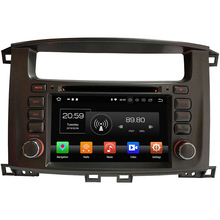 "4GB RAM 32GB ROM 2DIN 7"" Android 8.0 Octa Core car multimedia player radio For Toyota Lander Cruiser 100"