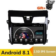 10,1 «Android автомобильный DVD мультимедийный плеер gps для Nissan TEANA 2013 2014 2015 2016 Altima автомобильный Радио стерео Навигатор bluetooth