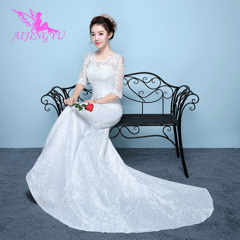 AIJINGYU Wedding Dresses Turkey Bridal Long Dress Party WK875