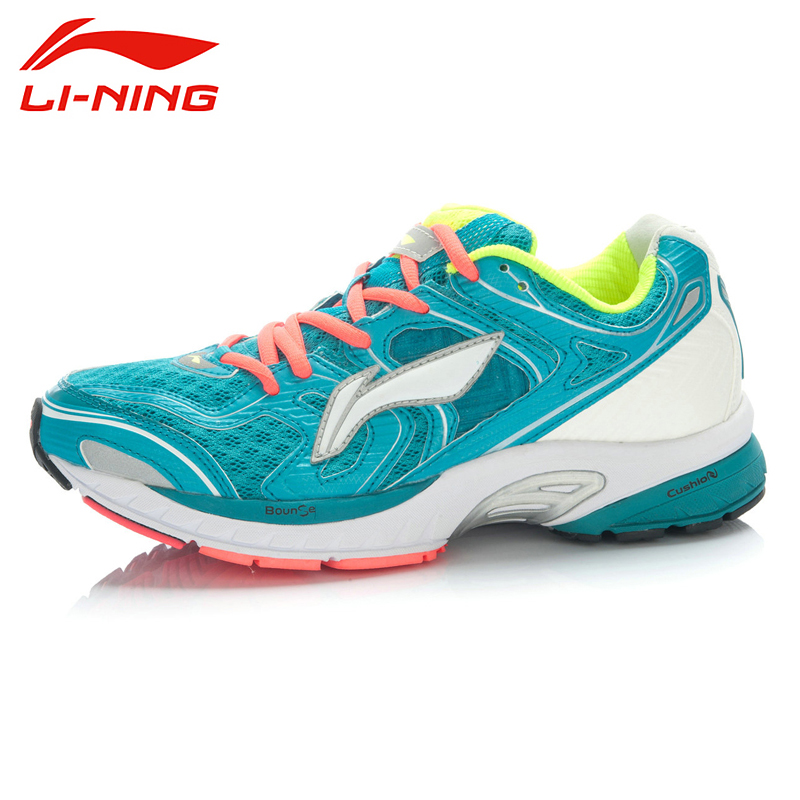 LI-NING Outdoor Running Shoes Men Lace Up Breathable 3M Reflective Stability Cushioning Sneakers Sport Shoes ARGJ001 XYP258