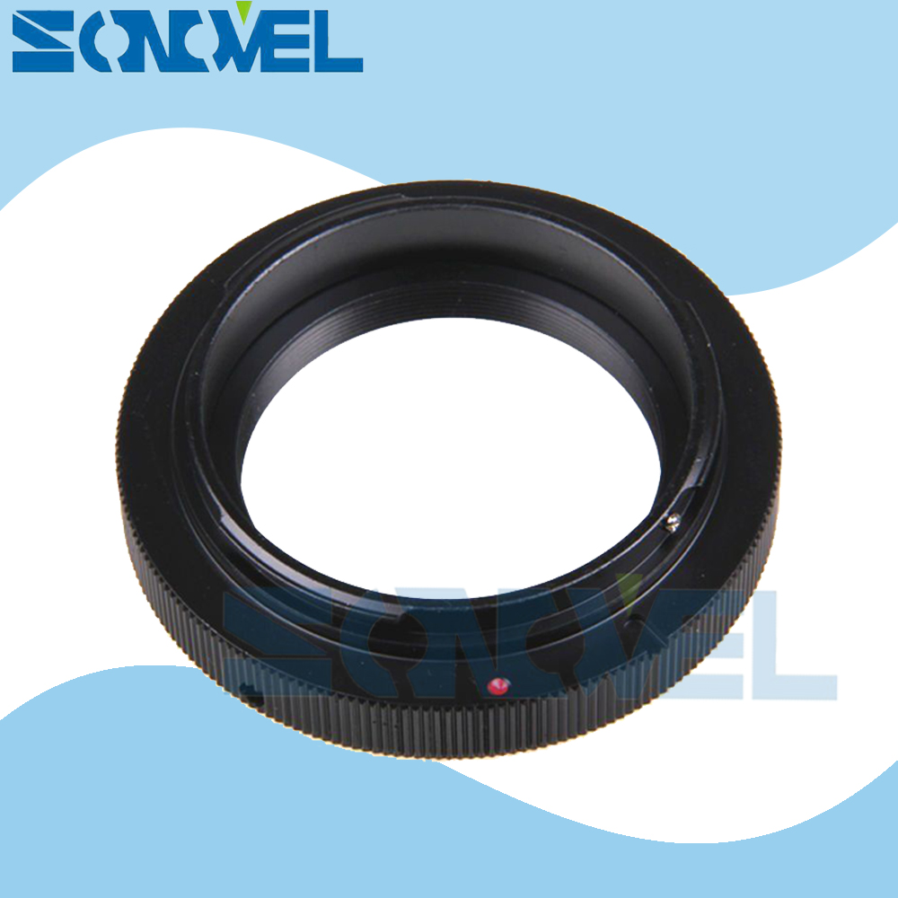T2 T mount Lens For Canon EOS EF mount adapter 1300D 1200D 800D 760D 750D 700D