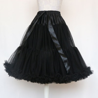 Tutu Skirt Silps Swing Rockabilly Petticoat Underskirt Crinoline Fluffy Pettiskirt For Wedding Bridal Retro Vintage Women