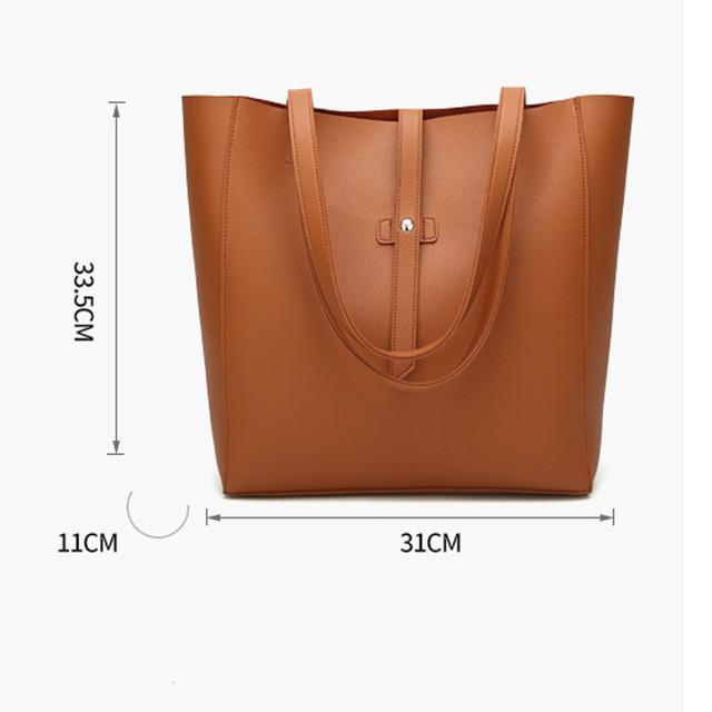 Transer Women bag Women's Leather Handbags Luxury Lady Hand Bags With Purse Pocket Women messenger bag Big Tote Bolsos Mujer #30