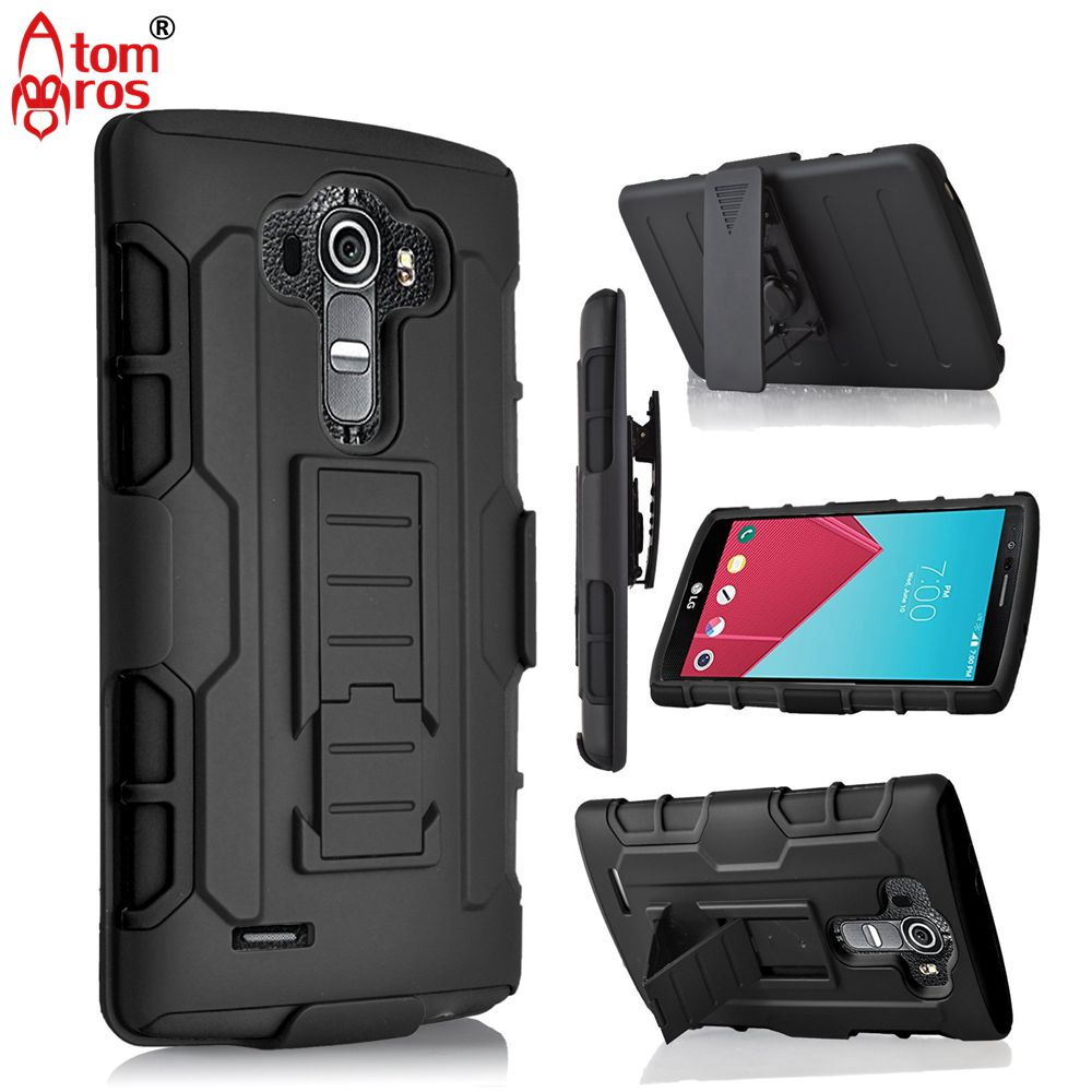 big sale 254b3 273f4 US $4.99 |Rugged Belt Clip Holster Cover Hard Armor Case For LG G Vista  VS880 / G Vista 2 Cases Phone Shell Skin Capa Fundas Kickstand-in Holsters  & ...