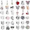 Ranqin Necklace European Fashion New Gift Original Pink Bead Fit Pandora Charm Bracelet