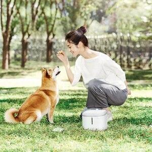 Image 4 - Youpin هريرة جرو موزع مياه الحيوانات الأليفة القط المعيشة نافورة الماء 2L الكهربائية نافورة التلقائي الذكية الكلب وعاء شُرب