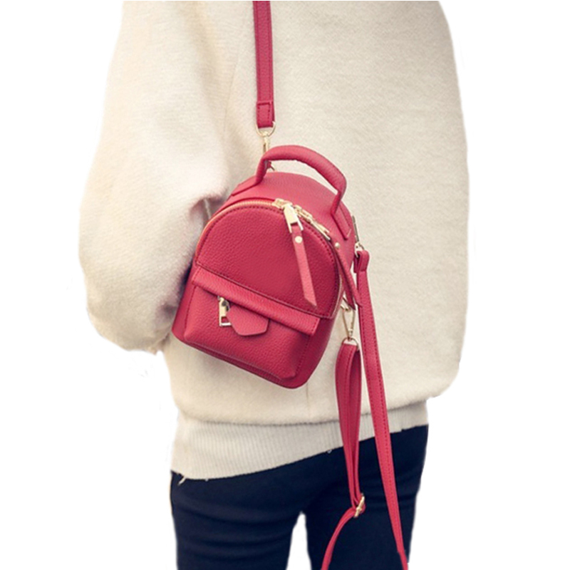 Mini Backpack - Leather Backpack For Women