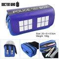 Bolso Del Doctor película stand azul multifuncional de gran capacidad de doble cremallera bolso Monedero billetera