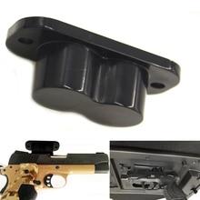 Poklopac Magnetic Gun Holder Holster Gun Magnet Ocjena za auto pod stolom Noćni pištolj magnet Vješalica Hunting