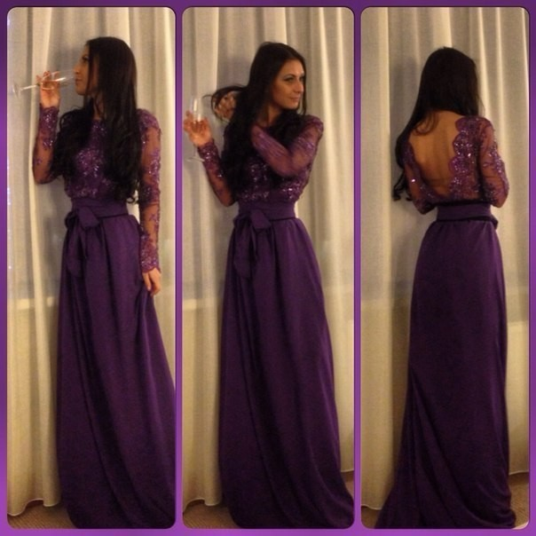Popular Sexy Purple Prom Dresses-Buy Cheap Sexy Purple Prom ...