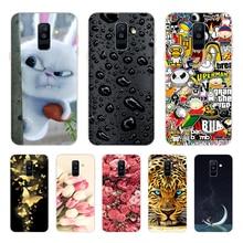 Silicone Case For Samsung Galaxy A6 2018 case SM A600 A600F Soft Tpu Cover For Samsung A6 Plus 2018 cover A605 A605F shell funda цена и фото