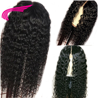 KRN 13X6 Lace Front Wig With Baby Hair 8 24 Inch Remy Hair Deep Part Curly Pre Plucked Brazilian Human Hair Wigs For Women