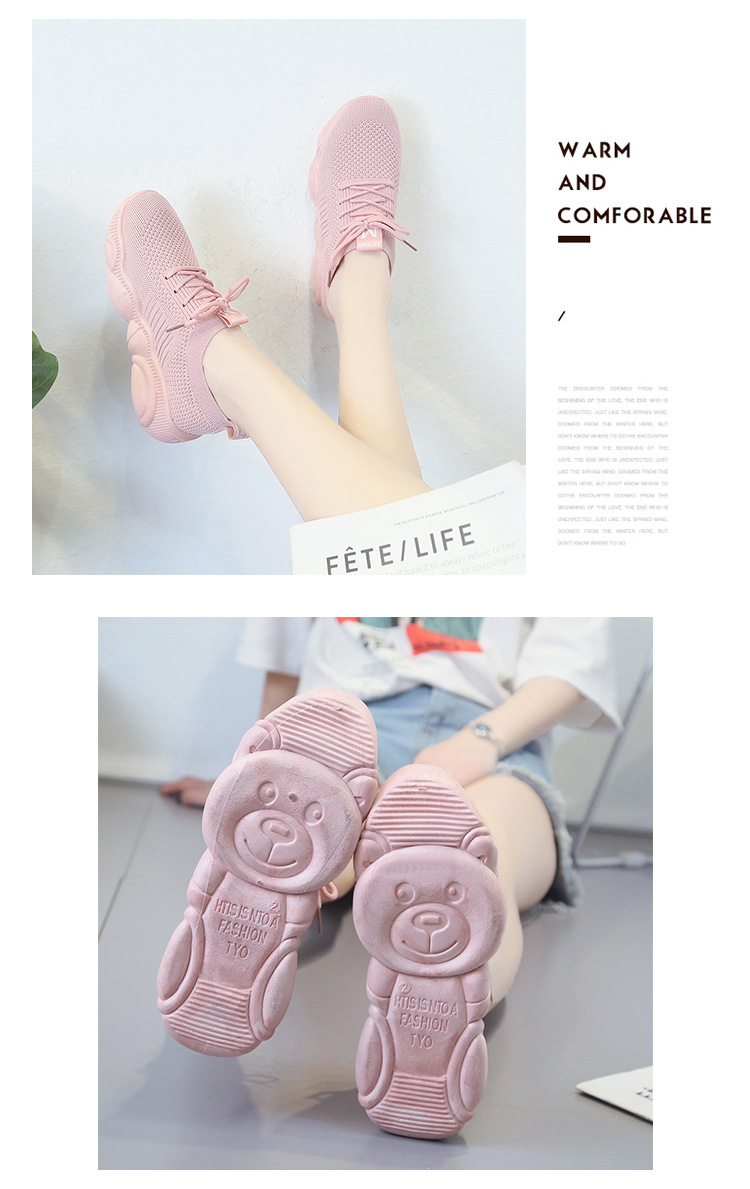 Breathable Women Casual Shoes Summer Lace Up White Platform Sneakers Fashion Soft Walking Flat Women Vulcanize Shoes New VT220 (2)