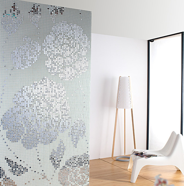 diy flower 3d diamond glass mosaic painting new style kitchen backsplash bath shower home hotel wallpaper