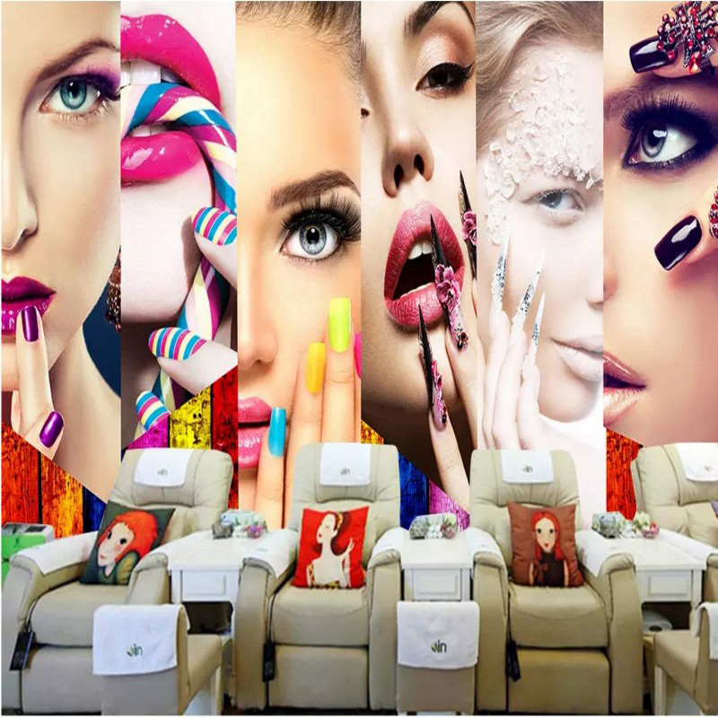 Beauty Fashion Group: Custom Beauty Salon Wallpaper For Walls Wall Paper Fashion