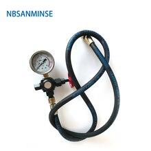 CQJ 16 / 25 40 Charging Tool NBSANMINSE Hydraulic Accumulator M14 * 1.5 Sanmin