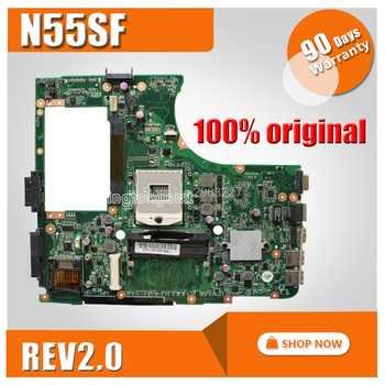 N55SF Motherboard REV2.0 For ASUS N55S N55SL Laptop motherboard N55SF Mainboard N55SF Motherboard test 100% OK - Category 🛒 Computer & Office