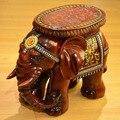 Oferta especial de alta-grau de imitação de mogno Mobiliário fezes de elefante resina decoração decoração de Casa