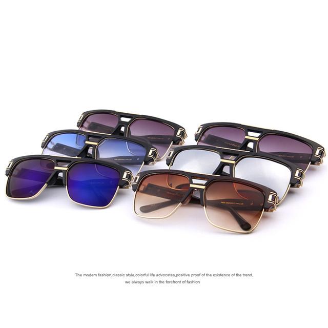 Men's Square Gradient Sunglasses