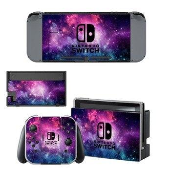 Skins autocollants Nintendo Switch Espace Galaxie