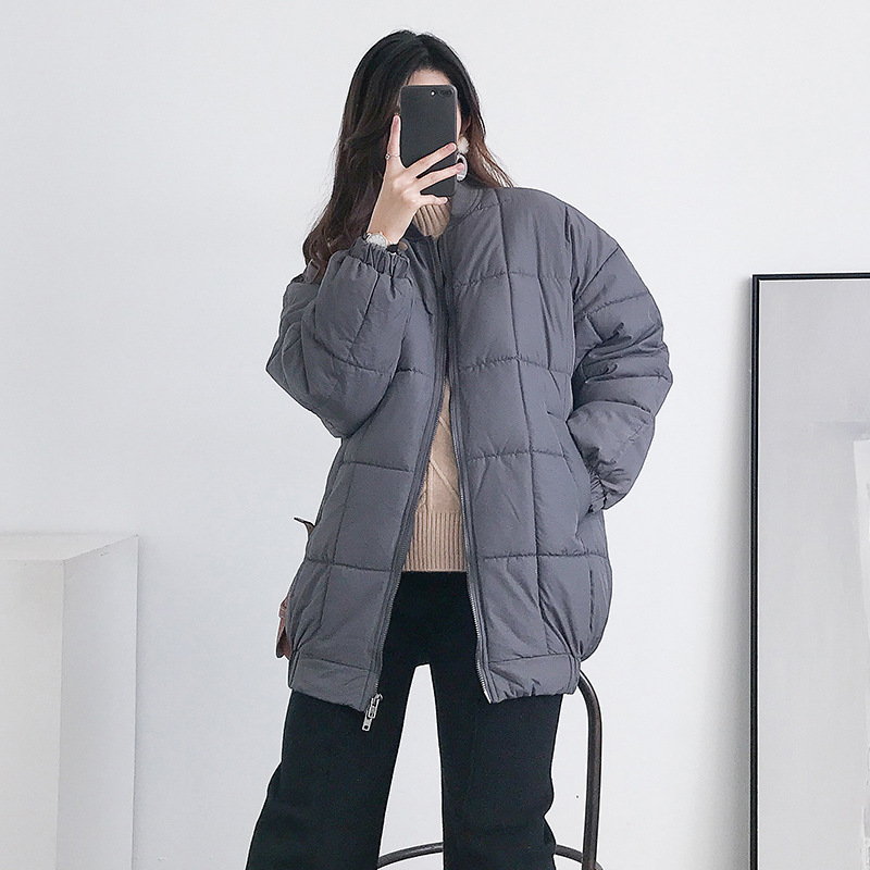 Maternity Women Winter Clothes Hoodless Long Sleeve Cottoned Coat New Mom Fashion INS Hot Thick Warm Outdoor Windbreaker Jackets