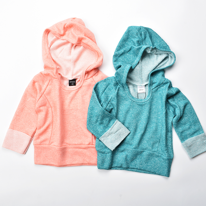 1-4yrs kids hoodies 2017 new fall sweater girls clothes full sleeve cotton children hoody for boys