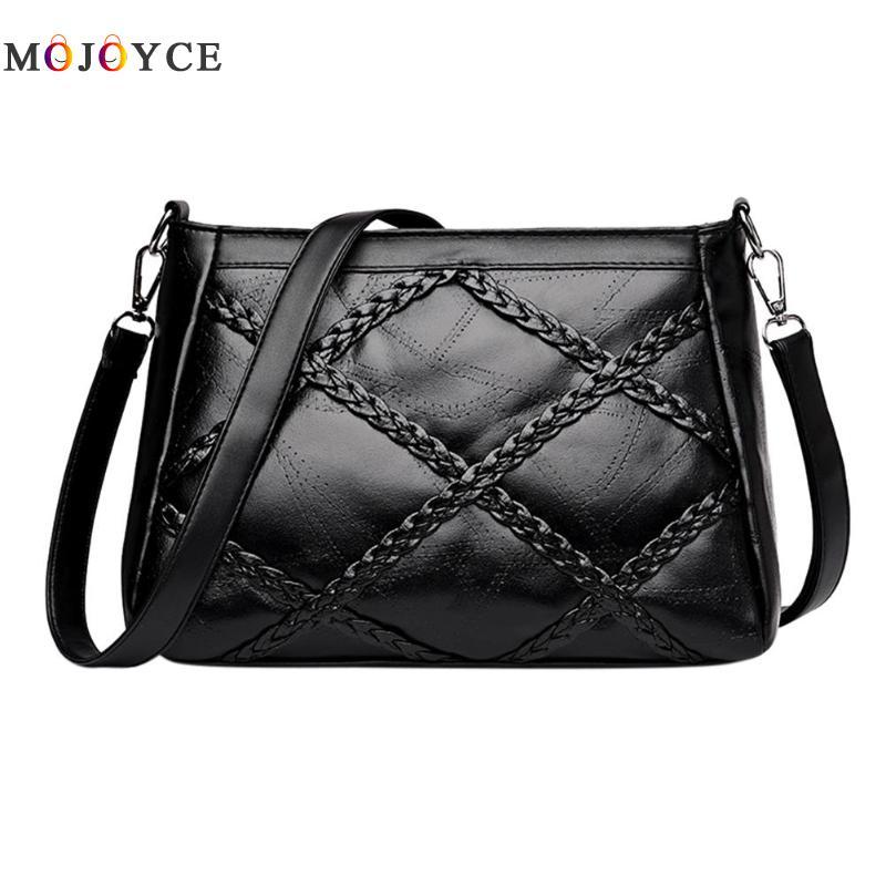 Luxury Brand Women Messenger Bag Female PU Leather Shoulder Bag Crossbody Bag Ladies Handbag Bolsa Feminina