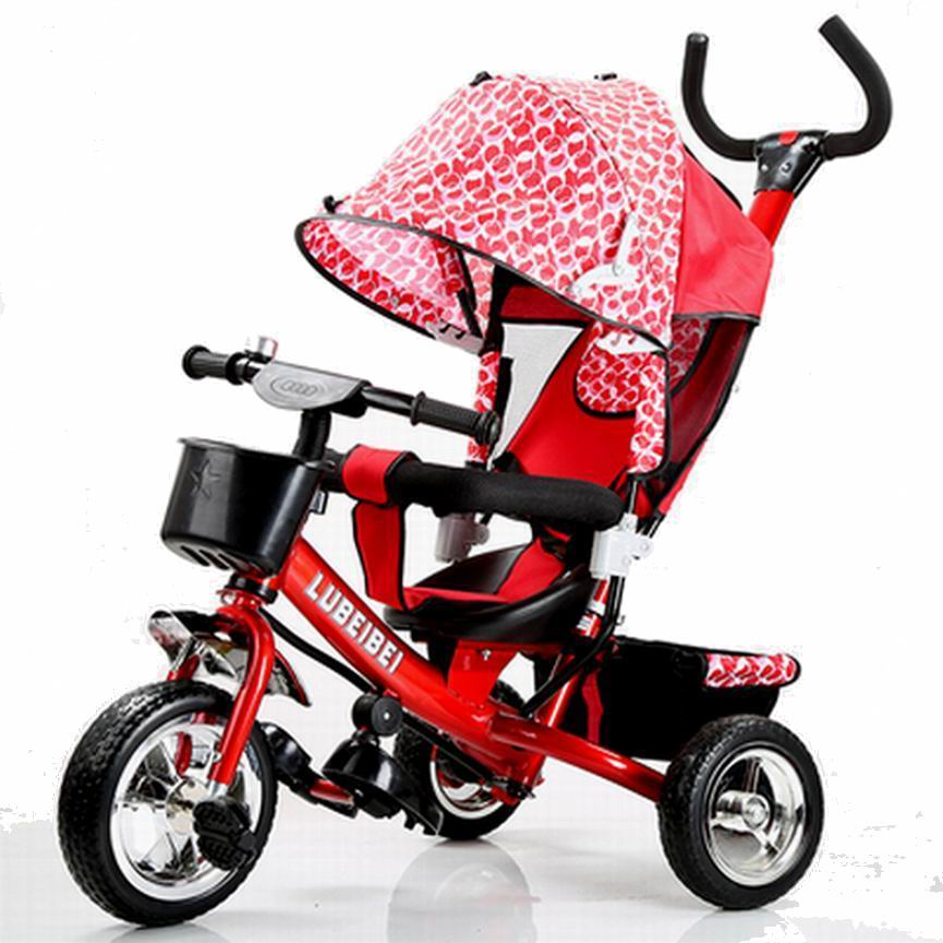 2015 New arrive good quality Baby child tricycle trolley baby stroller baby carriage bike bicycle for 6 month--6 years old