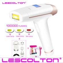 Оригинальный Lescolton 4в1 1000000 импульсный IPL лазер для удаления волос перманентное Удаление волос IPL лазерный эпилятор подмышка удаление волос