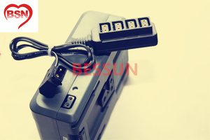 Image 2 - D TAP B type female 1 point 4 camcorder battery type B port D tap power outlet header