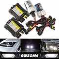 55 Вт Xenon HID комплект авто фар лампы балласт H1 H3 H4-2 H7 H8 / H9 / H11 H16 9005 9006 880 881 4300 К 6000 К 8000 К 10000 К 12000 К