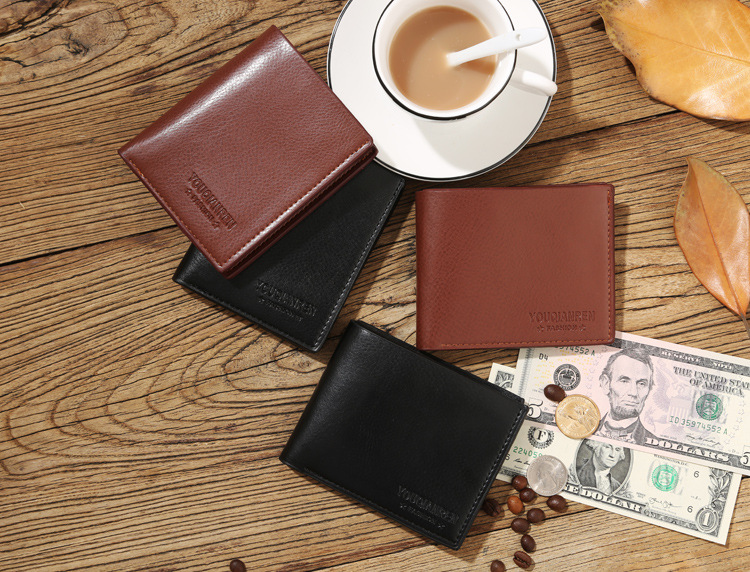 designer brand mens wallets i3qa  Mini Crazy Mens Wallets Polo solid short Wallet For Men Designer Brand  Purse Small Man Wallet Mens Coin Purse-in Wallets from Luggage & Bags on
