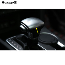 High Quality styling inner car stick Chrome ABS Shift knob control Top font b lamp b