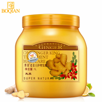 BOQIAN Ginger Hair Care Deep Conditioner Hair Mask Moisturizing Repair Frizz For Dry Damaged Hair Disposable Hair Product 1000ML