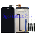 Black Full LCD DIsplay + Touch Screen Digitizer Assembly For Asus ZenFone 2 Laser  ZE500KL ME500KL Z00ed Free shipping + Tools