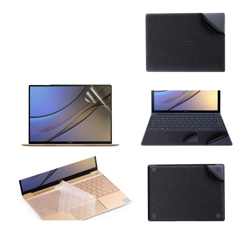 Матовая черная наклейка для ноутбука huawei MateBook E 12 D 15,6 Виниловая наклейка для ноутбука Matebook X Pro 13,9X13,3 чехол для клавиатуры