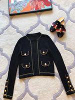 Новинка 2018 Высокое качество модные Пальто и куртки для подиума летние Для женщин s Роскошные брендовые Женская одежда A08156