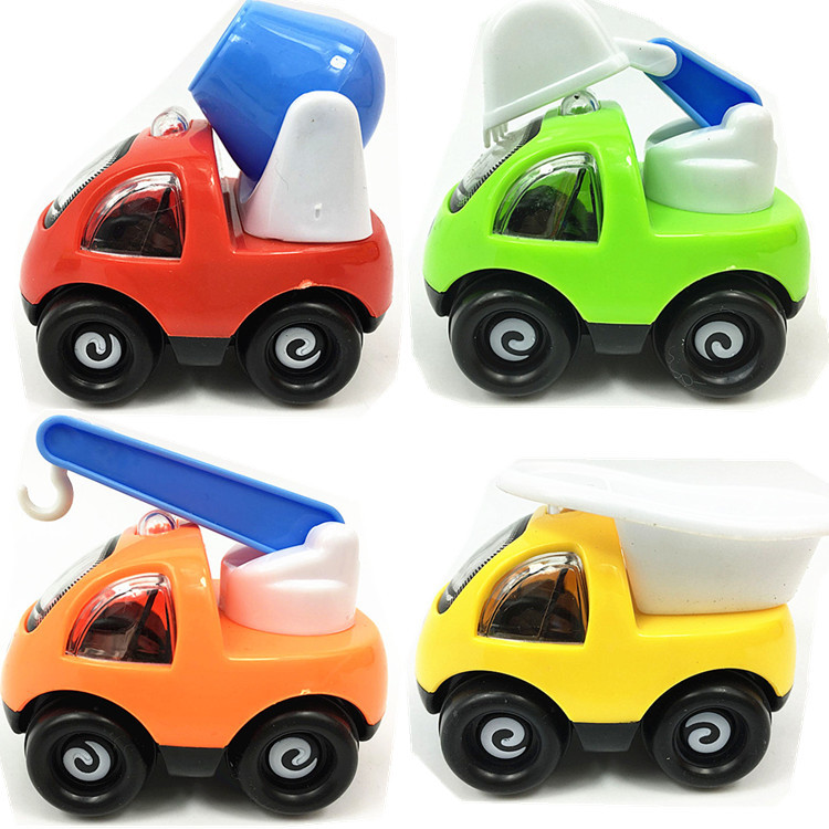 4 Colors Funny Mini Cartoon Inertia Toy Car Pull Back Sand Tools Truck Beach Toys For Kids Playing Vehicles Children Model Gifts