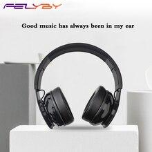 FELYBY Cancelamento de Ruído fone de ouvido Bluetooth 4.1 fones de ouvido de jogos com microfone sem fio fone de ouvido música esportes ao ar livre para o telefone