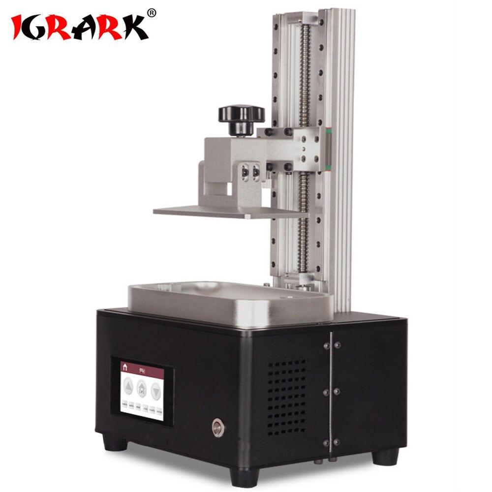 IGRARK haute résolution 0.025 MM Castable résine bijoux imprimante 3D UV-LED haute précision DLP bijoux dentaire 3D imprimante