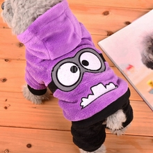 Fleece Winter Dog Clothes Funny Pet Costume Warm Dog Coat for Small Dogs Clothin