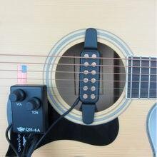 Pogłos Pickup na gitarę Soundhole niski poziom hałasu gitara Pickup akustyczne instrumenty strunowe akcesoria