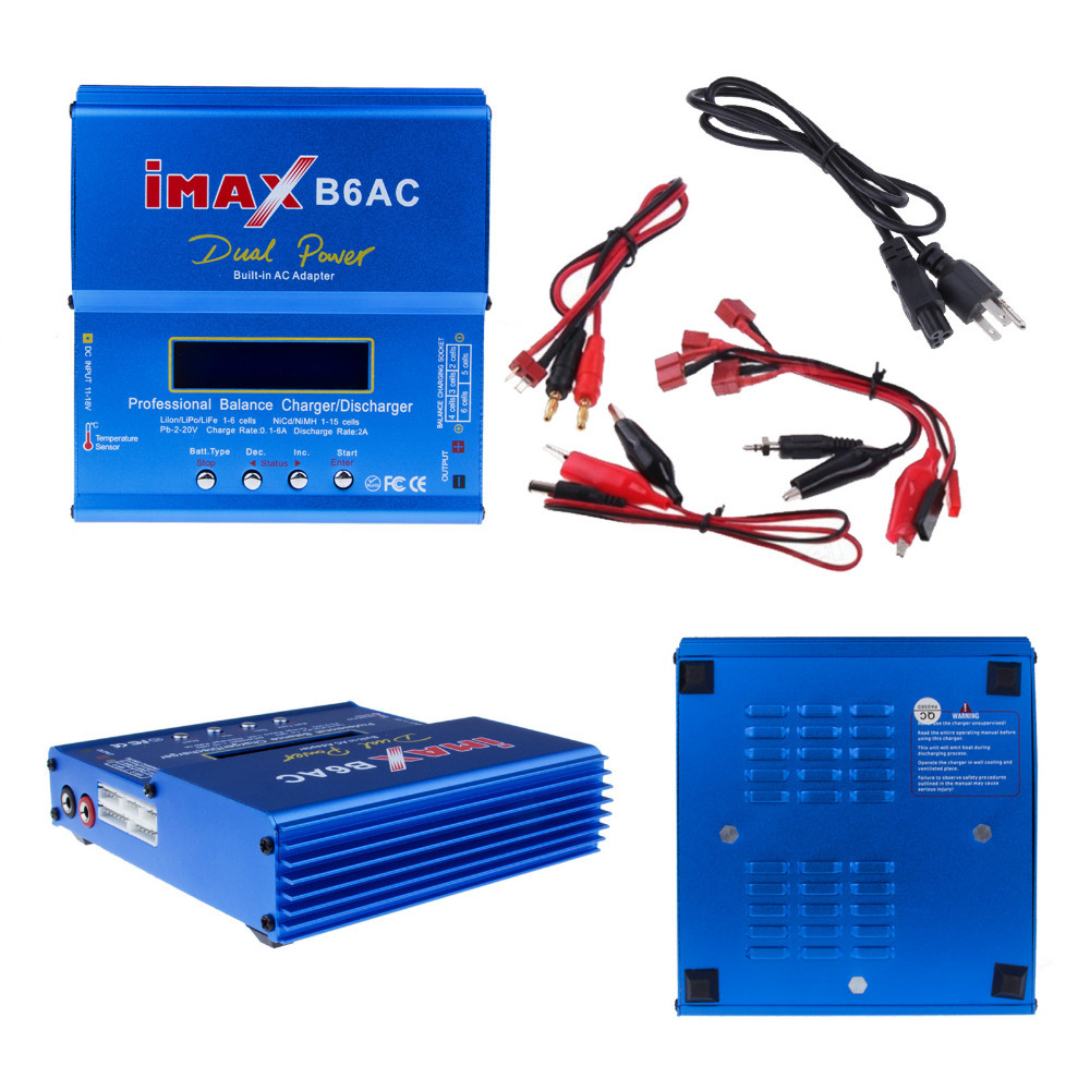 Charger Battery Imax B6 High Quality Original B6ac Balance Lipo Digital Balancer Charging Turnigy Adapter In Parts Accessories From Toys