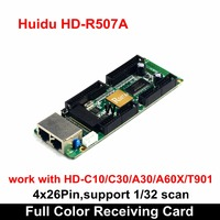 Huidu HD R507A Small Pixel Pitch Full Color LED Video Wall Receiving Card 4x26 Pins , Compatiable with Normal P1.875 LED Module