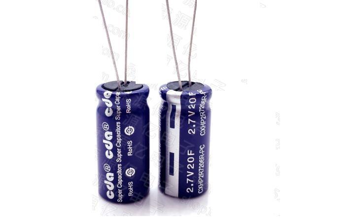 10pcs 2.7V20F Supercapacitor 20f2.7v 12.5*26