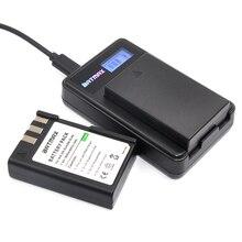 2Pcs 1800mAh EN-EL9 EN EL9 EN-EL9a EN EL9a EL9a Camera Li-ion Battery&USB LCD Charger for Nikon EN-EL9a D40 D60 D40X D5000 D3000