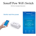 Sonoff Pow Wireless WiFi Switch ON/Off 16A With Power Consumption Measurement For Home Appliance IOS Android Remote